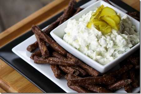 Dill Pickle Dip from Foodie with Family