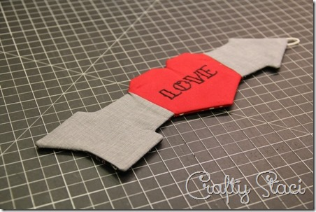 Heart and Arrow Coffee Cup Sleeve - Crafty Staci 10