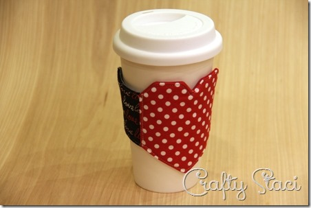 Heart and Arrow Coffee Sleeve - Crafty Staci 14