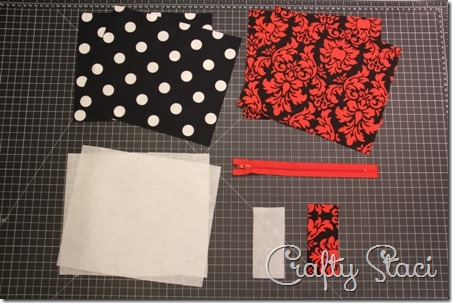Easy Lined Zippered Bag - Crafty Staci 12