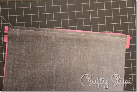 Easy Lined Zippered Bag - Crafty Staci 4