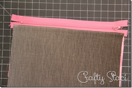 Easy Lined Zippered Bag - Crafty Staci 5