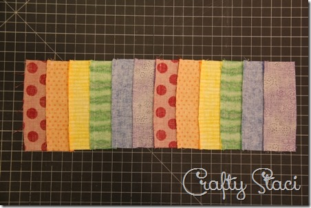 Rainbow Coffee Sleeve - Crafty Staci 3
