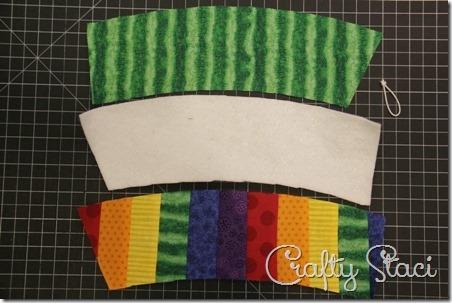 Rainbow Coffee Sleeve - Crafty Staci 5