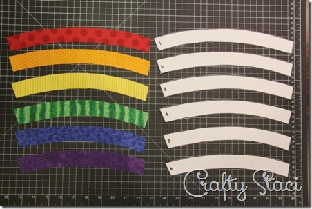 Rainbow Mug Mat - Crafty Staci 2