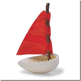 Seashell Sailboat from Spoonful