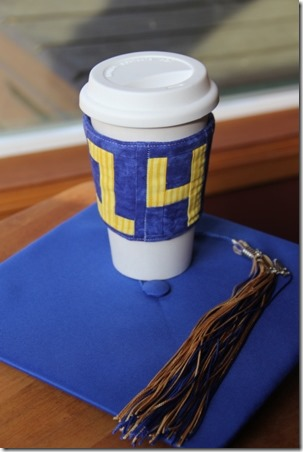 Class of '14 Coffee Sleeve - Crafty Staci 21
