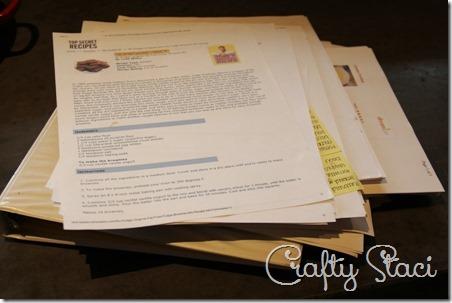 DIY Cookbooks - Crafty Staci 2