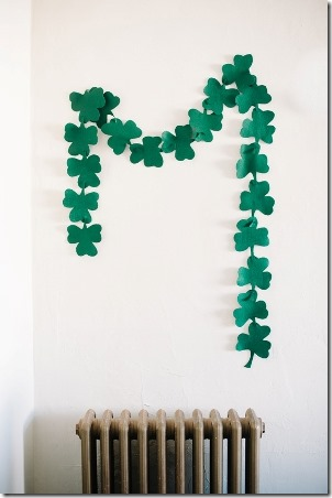 Easy St Patrick's Day Garland by A Subtle Revelry