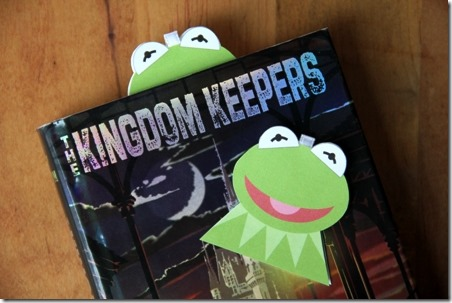 Kermit the Frog Magnetic Bookmark - Crafty Staci
