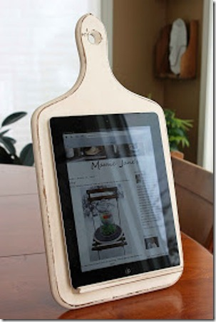 Kitchen Tablet Holder from Mamie Jane's