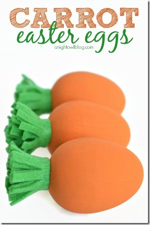 Carrot Easter Eggs by A Night Owl