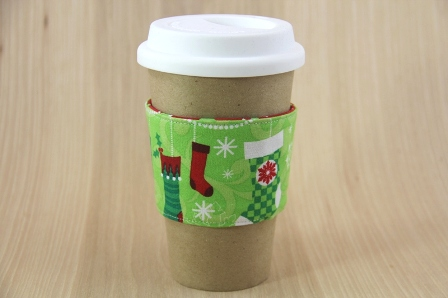 Christmas Stockings Coffee Cup Sleeve - CraftyStaci