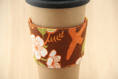 Tropical Coffee Cup Sleeve - CraftyStaci