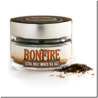 Bonfire Extra Bold Smoked Sea Salt from Saltworks