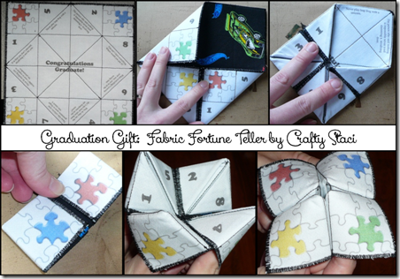Fabric Fortune Teller - Crafty Staci