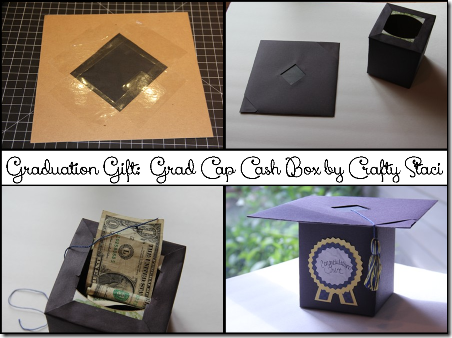 Grad Cap Cash Box - Crafty Staci