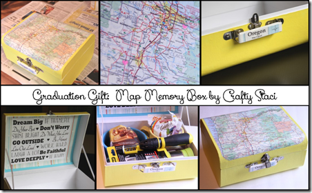 Map Memory Box by Crafty Staci