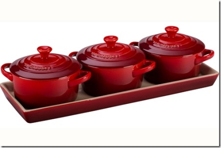Mini Cocottes from Le Creuset