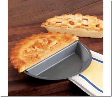 Split Decision Pie Pan on Chefs