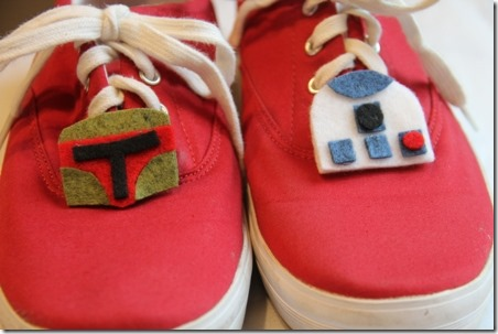 Star Wars Hair Clips or Shoe Toppers by Crafty Staci 3