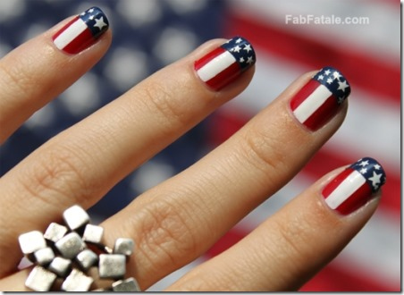 4th of July Manicure by Fab Fatale