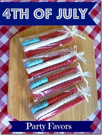 4th of July Party Favors by Sweet Simple Stuff