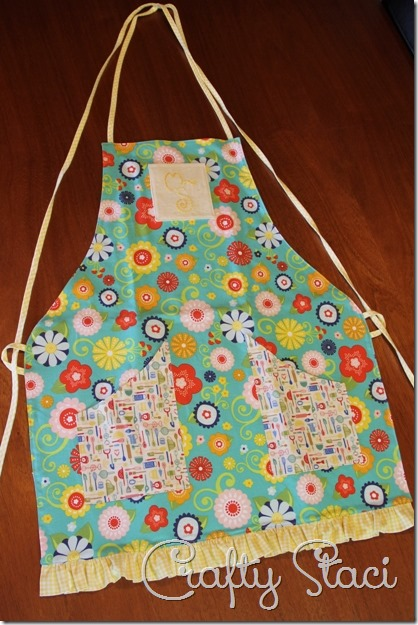 Embellished Kitchen Towels - Crafty Staci 4