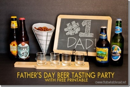 Father's Day Beer Tasting Party by That's What Che Said