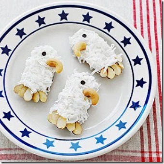 July 4th Regal Eagle Cookies by Dollhouse Bake Shoppe