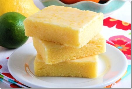 Lemon Brownie Bars by Wicked Good Kitchen