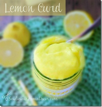 Lemon Curd by Sewlicious Home Decor