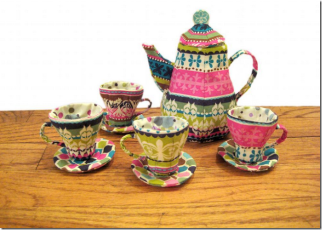Mad Hatter Tea Set by Super Pop on Craftsy