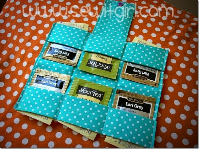 Tea Wallet by Sew It Girl
