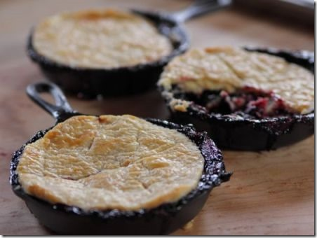Blackberry Pot Pie from Food Network