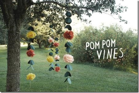 Pom Pom Vines from Once Wed