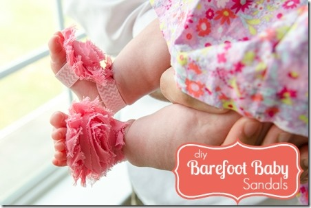 Barefoot Baby Sandals - Craftaholics Anonymous