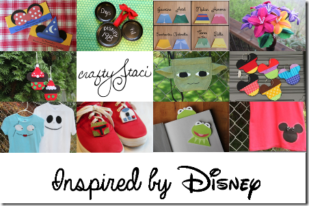 Disney Crafts on Crafty Staci