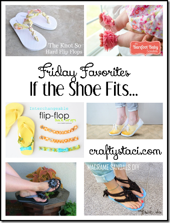 DIY Shoes - Crafty Staci's Friday Favorites