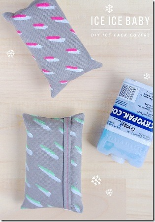 Ice Pack Covers from Little White Whale