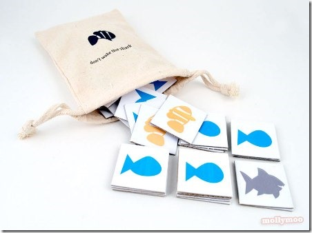 Shark Matching Game by Molly Moo Crafts