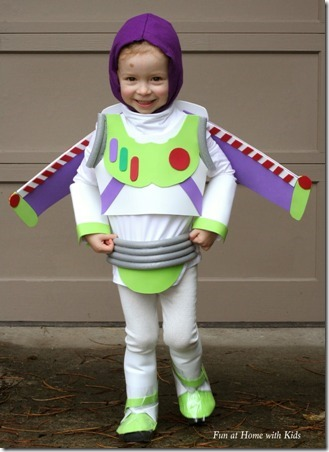 DIY Buzz Lightyear Halloween Costume by Fun At Home With Kids