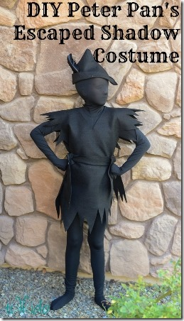 DIY Peter Pan's Shadow Costume by Tikkido