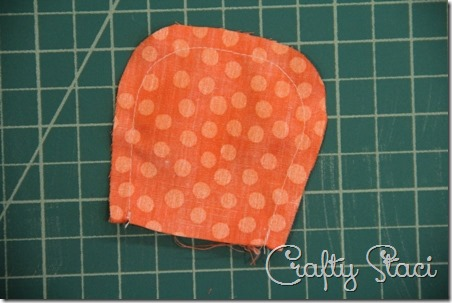 Puffy Fabric Flowers - Crafty Staci 3