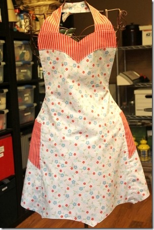 Chatterbox Apron for Craft Warehouse - Crafty Staci