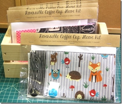 DIY Coffee Cup Sleeve Kits from Crafty Staci