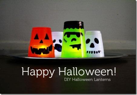 DIY Halloween Lanterns by The Australian Baby Blog