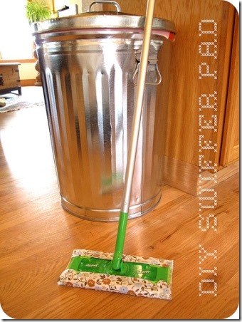 DIY Swiffer Pad from Sew Take a Hike