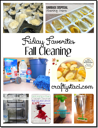 Fall Cleaning DIYs - Crafty Staci's Friday Favorites