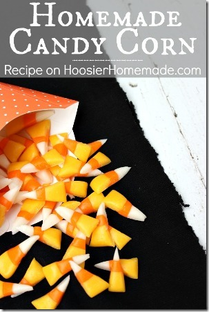 Homemade Candy Corn from Hoosier Homemade